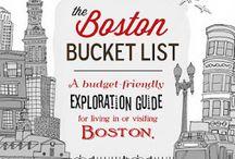 Boston bucket list / by Brittany Murrie