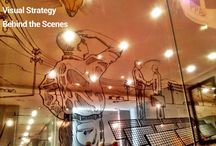 Internal Communication Murals / Murals created for Visual Strategy Campaigns