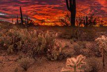 Sunrise And Sunset In Arizona