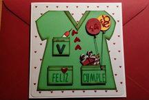 Tarjetas Ann Friks Original / Tarjetas de cumpleaños, Navidad...