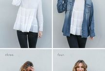 Layering clothes