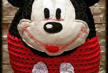 pouf micky mouse