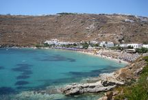Psarou Beach  / The hotel is just a short walk from the sandy beach of Psarou.