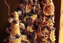 vánoce, secese - ornament, portály
