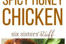 Spicy Honey Glaze Grill Chicken