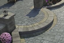 Paver Patios / At Above All Masonry, our standards for materials are the same as if we were building a paver patio at our own family home. That's why we're proud installers of Techo-Bloc and Cambridge pavers, and are happy to help you select the right pavers for your home's patio. During warm Long Island summers, there's no better space to relax with family and friends than under a sunny (or starry) sky—and there's no better way to create a custom outdoor living space than by installing a paver patio.