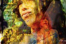 Steve Tyler Pop Art Canvas