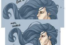 Hair - scatches