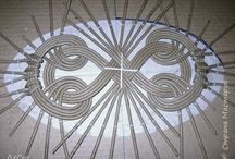 Pletení z papíru - víka