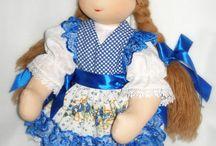 Toys / Куклы и игрушки ручной работы. Сшиты из натуральных материалов.