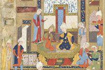 Persian and indian miniatures