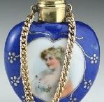 PERFUME BOTTLES ~ BLUE / by Sue Dewland