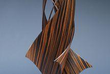 Wood / Wood work, wood turning, sculpture