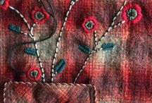 Stitch / embroidery, sewing and stitching in all it guises.