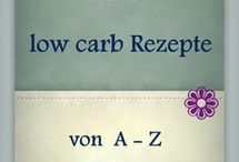 LOW CARB REZEPTE A-Z