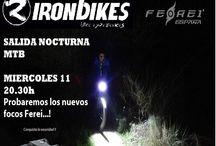 Demo Show Ferei-ironbikes / Salida desde ironbikes elche, para demostracion de los focos ferei.   www.ferei.es