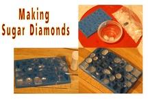 Sugar diamonds / gems