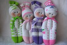 OCC Softies / DIY Soft dolls and stuffed animals for Operation Christmas Child Shoeboxes / by Michelle