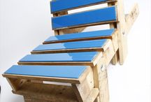 DIY :: Furniture / Upcycled Furnitures - tables, chair and more from old pallets and used stuff