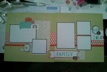 Scrapbooking layouts I like