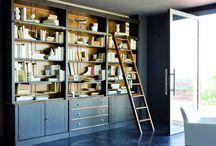 шкаф с лестницей