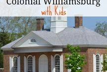 Colonial Williamsburg for Kids / Great activities, sites and education for kids about Colonial Williamsburg