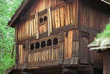 Edifici legno