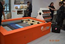 Domotex, Hannover - Germany 2015 / Had another busy and productive show at Domotex Hannover this year, with plenty of companies interested in our InstaFloor products!