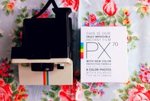 FOR THE LOVE OF POLAROID / by Rebecca Wise