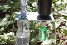 Sistemas de riego y plantas