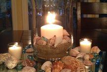 sviečky dekorácie