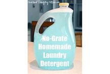DIY Cleaning Solutions  / My attempt to limit harsh (and expensive!) store-bought cleaners to make spring cleaning a little more pleasant!  / by Hayley Erickson