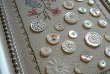 Boutons broderies miniatures