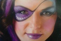Pirat ansiktsmålning
