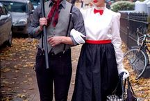 Couples fancy dress