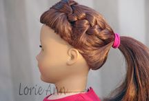American girl doll hair style / by Jodi Pennala Black