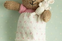 Little Knitted Bunnies + More Friends