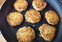 tuna cakes recipe / Fish