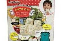 CuteZcute Sandviç-Yemek Kalıpları / CuteZcute markasının birbirinden sevimli sandviç/pasta kalıplarını kullanarak çocuklarınızın yemek saatini eğlenceli hale getirin! http://www.bebekform.com/cutezcute