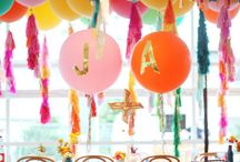 Party Time / Fresh fun party ideas that include unique DIYs that are budget friendly.