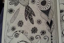 zentangles y mandalas / by Cecibel Cristina Alas Hernández