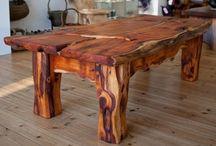 Table kayu nat 5