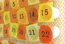 Calendari dell'avvento adventar calendar