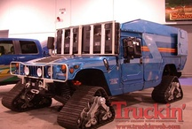 Camiones y otros asombrosos vehiculos