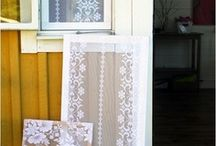 Lace mosquito screen