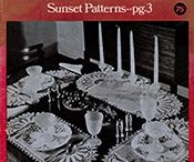Old-Time Crochet Patterns & Designs Magazines / Vintage patterns compiled and republished in magazine form. The patterns in these magazines are being matched with the original publication and as restored, will be available online.