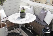 Balkony/terasy