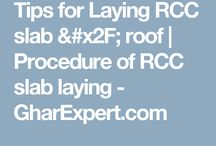 TIPS for laying rcc slab