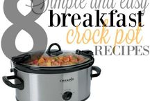 Crock Pot Cooking / Recipes and tricks for slow cooking in the crock pot