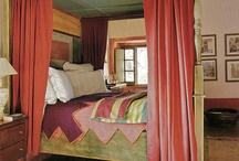 Tuscan bedrooms / Tuscan bedrooms - the many bedrooms of Tuscany provide such inspiration..the colors, the canopy beds, the headboards, the beautiful light wrought iron bedsteads, take a look for inspiration...www.classicvacationrental.com